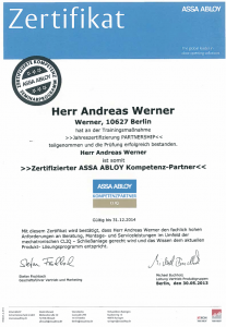assa abloy - Andreas Werner