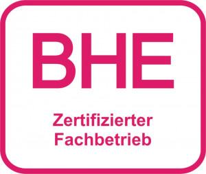 BHE zertifizierter Fachbetrieb
