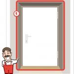 Foto der Tür für Stangenschloss Angebot 1