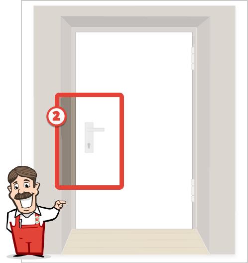 Foto der Tür für Stangenschloss Angebot 2