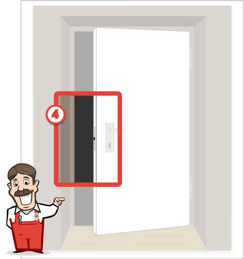 Foto der Tür für Stangenschloss Angebot 4