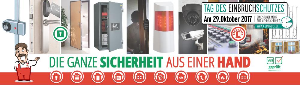 Werner Sicherheitstechnik und Alarmanlagen Startseite - Tag des Einbruchschutzes
