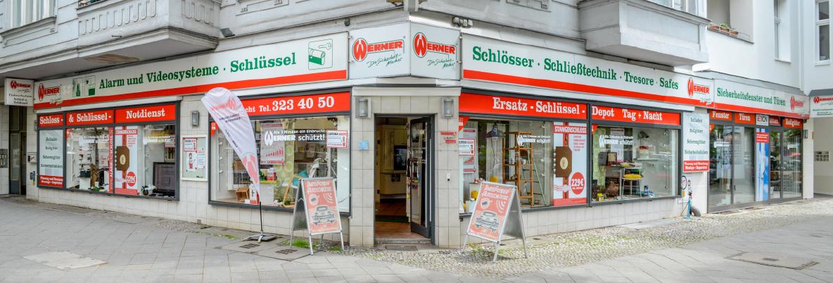 werner sicherheitstechnik eingang am Amtsgerichtsplatz Kantstr. 86 Berlin