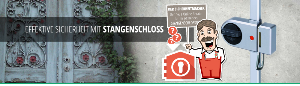 Effektive Türsicherheit mit Stangenschloss - Neu der Sicherheitmacher