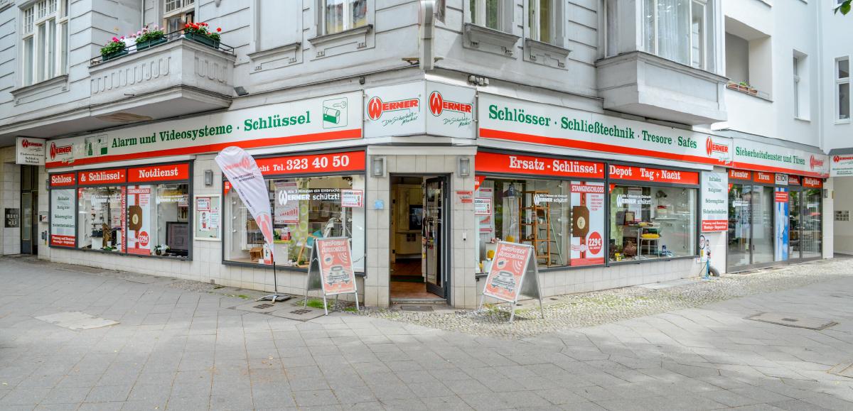 Werner Sicherheitstechnik Ladengeschäft