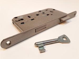 Buntbart Schlüssel mit Einsteckschloss