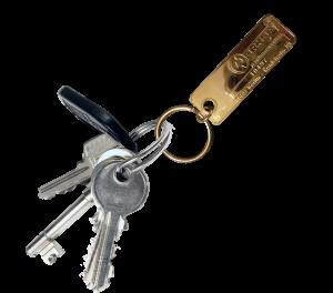 Schlüssel-Fund-Marke