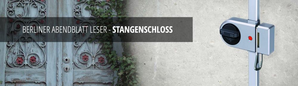 Stangenschloss Angebot Abendblatt