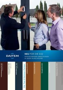 D22 kontaktsender in Wunschfarbe