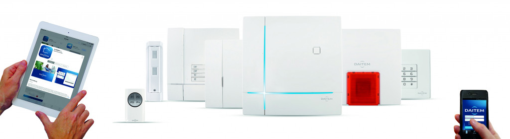 Daitem D22 Funk Alarmsystem Smart Home app Steuerung