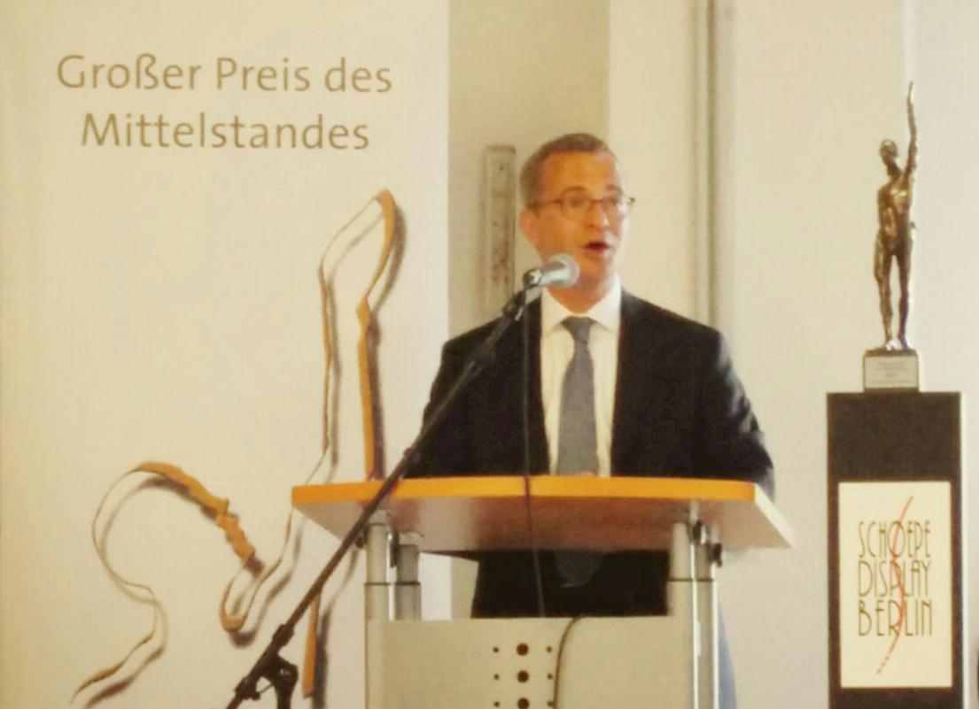 Brandenburgs Wirtschaftsminister Albrecht Gerber
