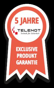 TELENOT 5 Jahre Exclusive Produktgarantie