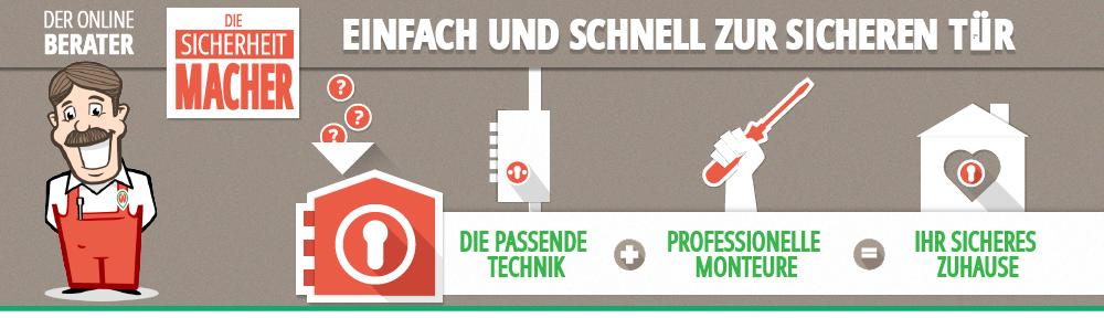 Stangenschloss mit Montage kaufen - Ihr Online Berater - die Sicherheitmacher.de