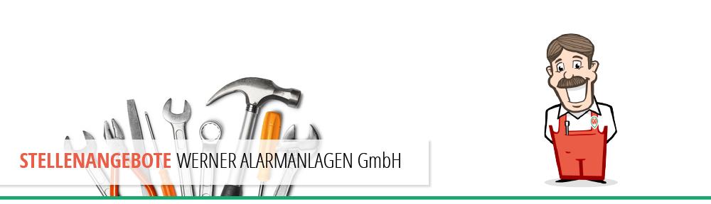 Stelle Angebot Werner Alarmanlagen GmbH