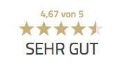 Bewertung 4,67 von 5