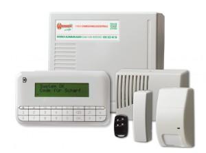 UTC Alarmanlagen Set vorkonfiguriert Werner Alarmanlagen GmbH