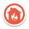 Brandschutz Feuerschutz Icon