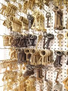 Zierschlüssel