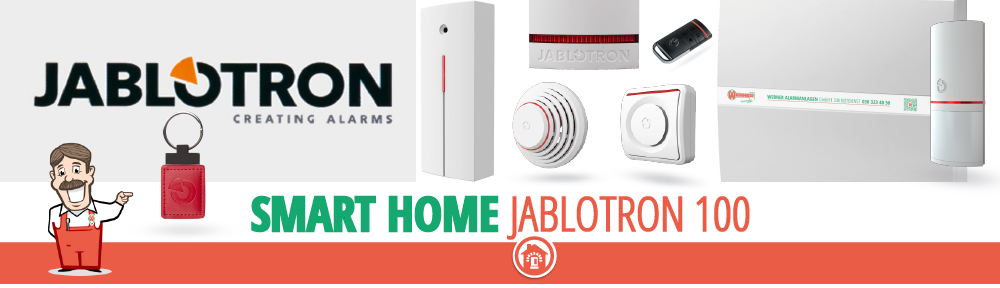jablotron 100 Alarmsystem Smart Home Hausautomation