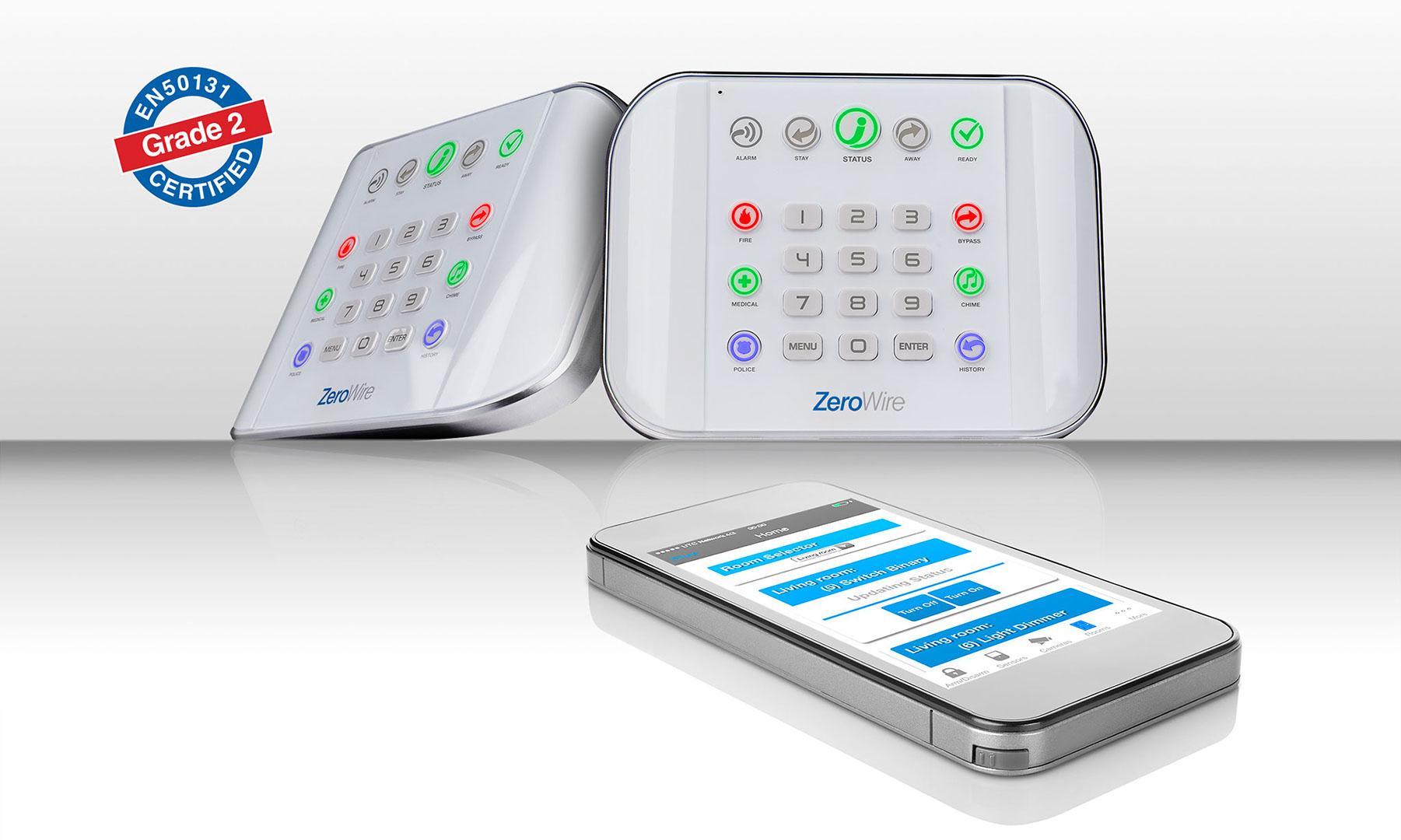 ZeroWire Smart Home Funk Alalrmanlage