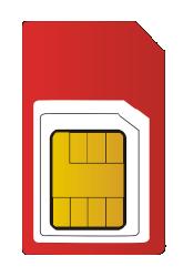 Werner Sim Karte für Mobile Datenübertragung von Alarmsignalen zur NSL