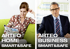 Telenot Arteo smart&safe Home Business