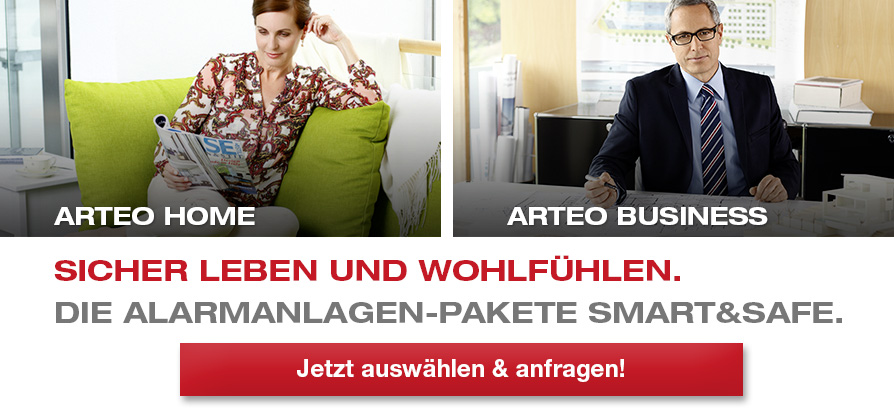 Telenot Arteo Smart&Safe Alarmanlagen Berlin