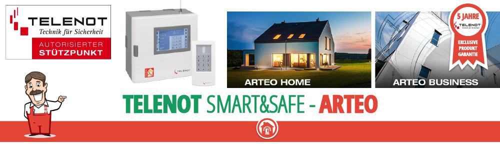 telenot Arteo smart&safe Berlin