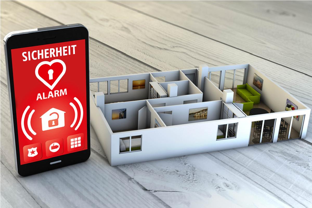 Smart Home Sicherheit Alarmanlagen Einbruchschutz