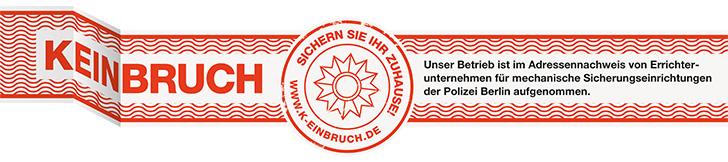 K-Einbruch Prüfsiegel Berlin
