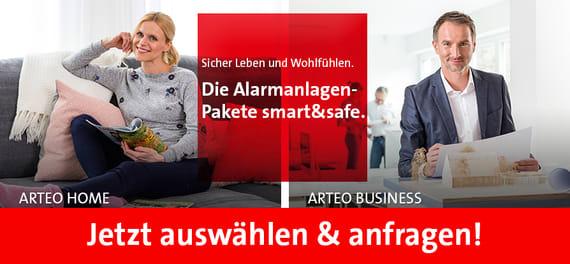 Telenot Arteo smart und Safe