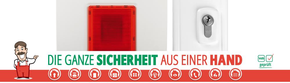 Werner Sicherheitstechnik Alarm und Schloss Startseite