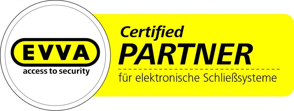 EVVA Zertifizierter Partner für elektronische Schließsysteme