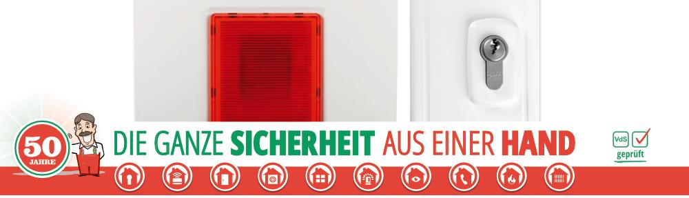 Werner Sicherheitstechnik 50 Jahre seit 1970