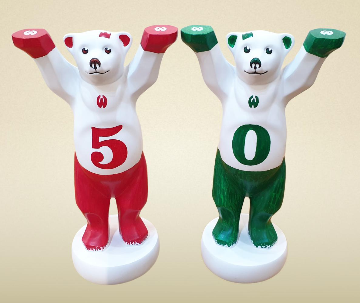 50 Jahre Werner Buddy Bear