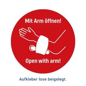 Handfrei Türöffner - Virenschutz