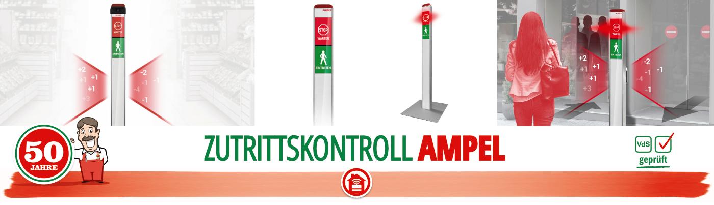 Elock2 Zutrittskontrolle Einlass Kontroll Ampel