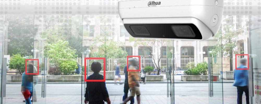 Videokamera mit Personenzählung