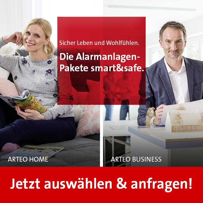 Telenot Arteo Home und Pro
