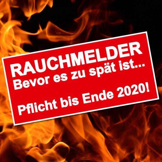 Raucmelderpflicht in Berlin bis Ende 2020