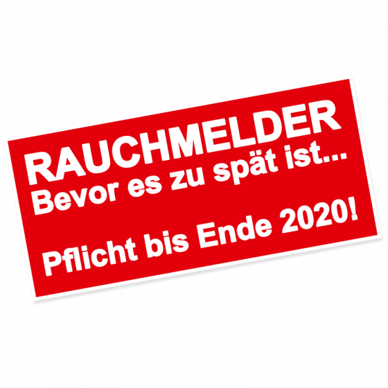 Rauchmelderpflicht in Berlin bis Ende 2020