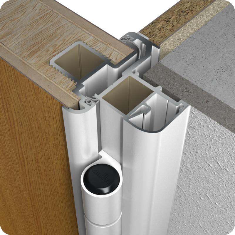 Wohnungstür Sicherheitstür Holzzarge