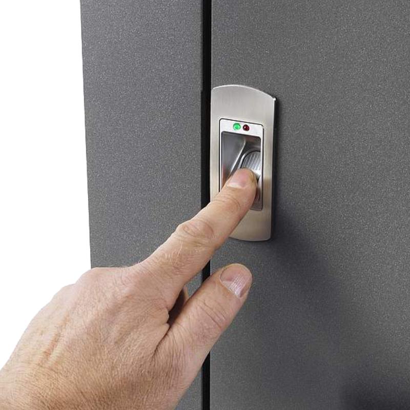 Haus Sicherheitstür mit Biometrischem Fingerscan Schloss