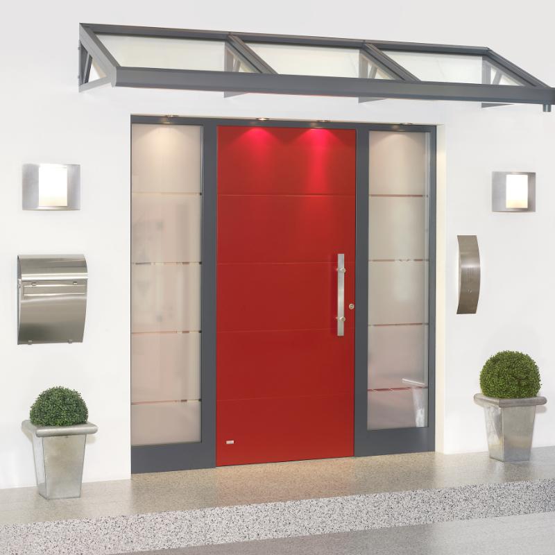 Haus Sicherheitstür aus Aluminium