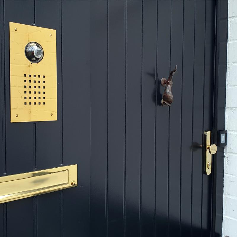 Haus Sicherheitstür aus Holz