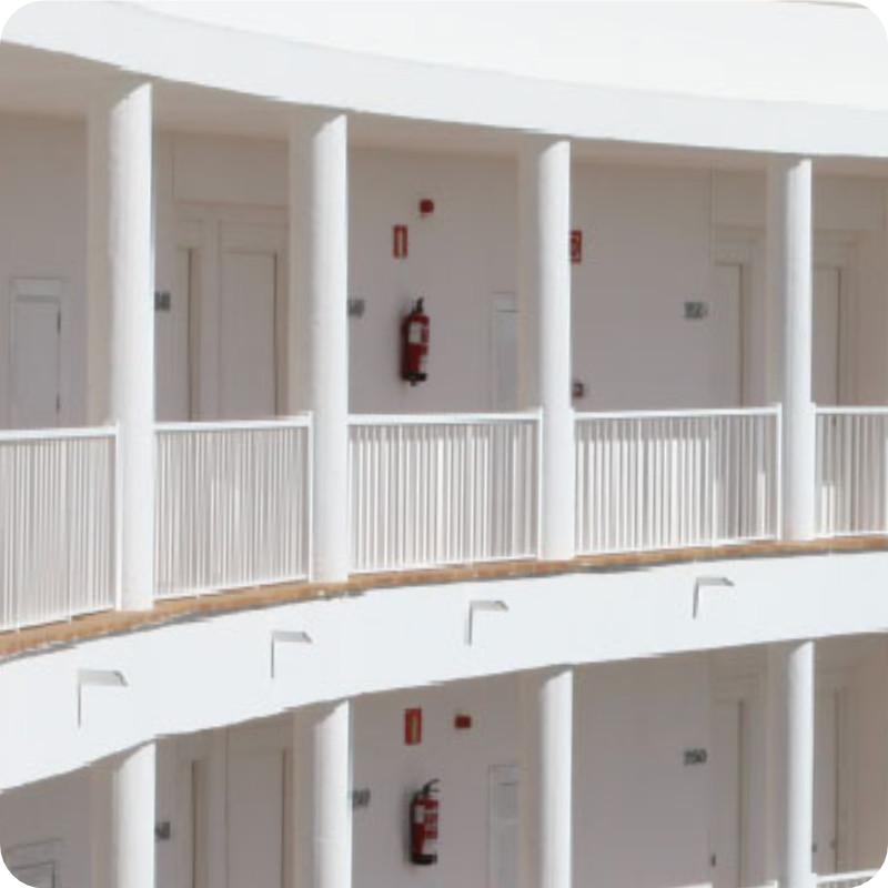 Laubengang Wohnungstüren Sicherheitstüren