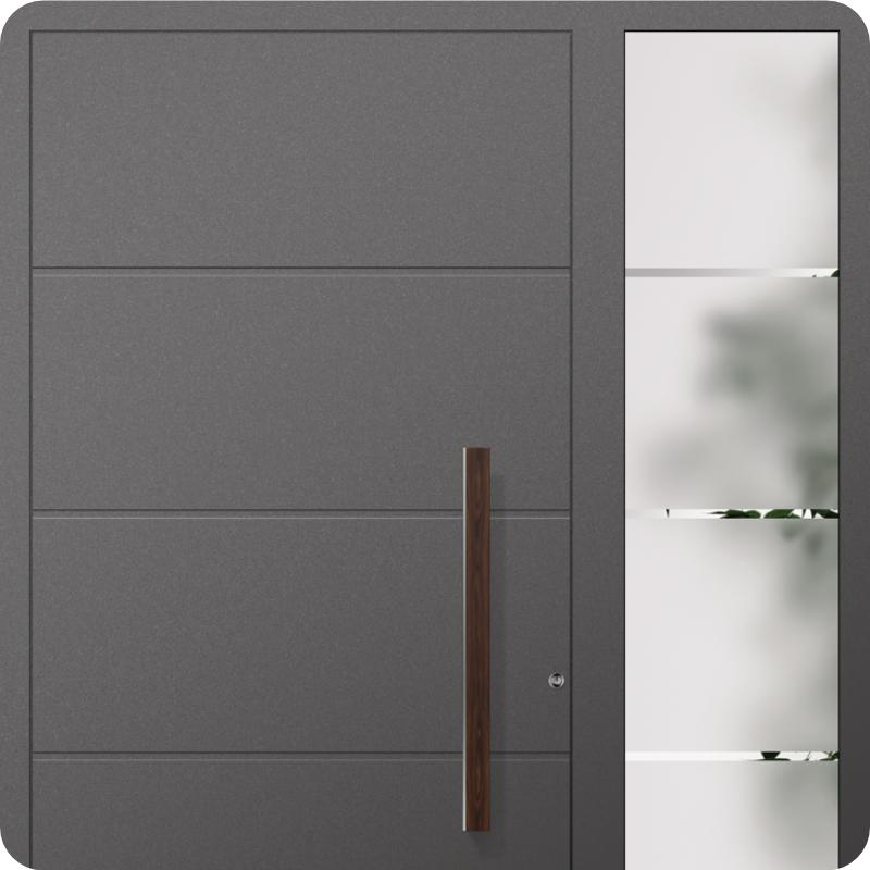 Haus Sicherheitstüren aus Aluminium