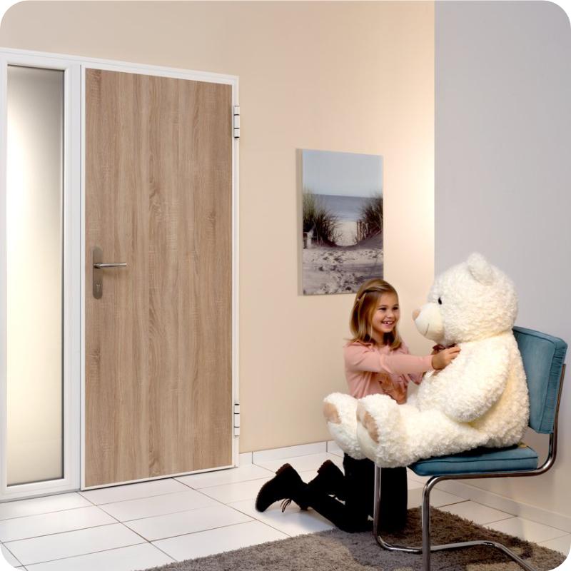 Wohnungseingangstür Sicherheitstür Wohnungstür Innenansicht