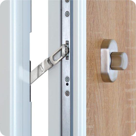 Wohnungseingangstür Sicherheitstür Wohnungstür Sperrbügel Öffnungssperre