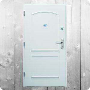 Sicherheitstür Holz Haustür Innenansicht